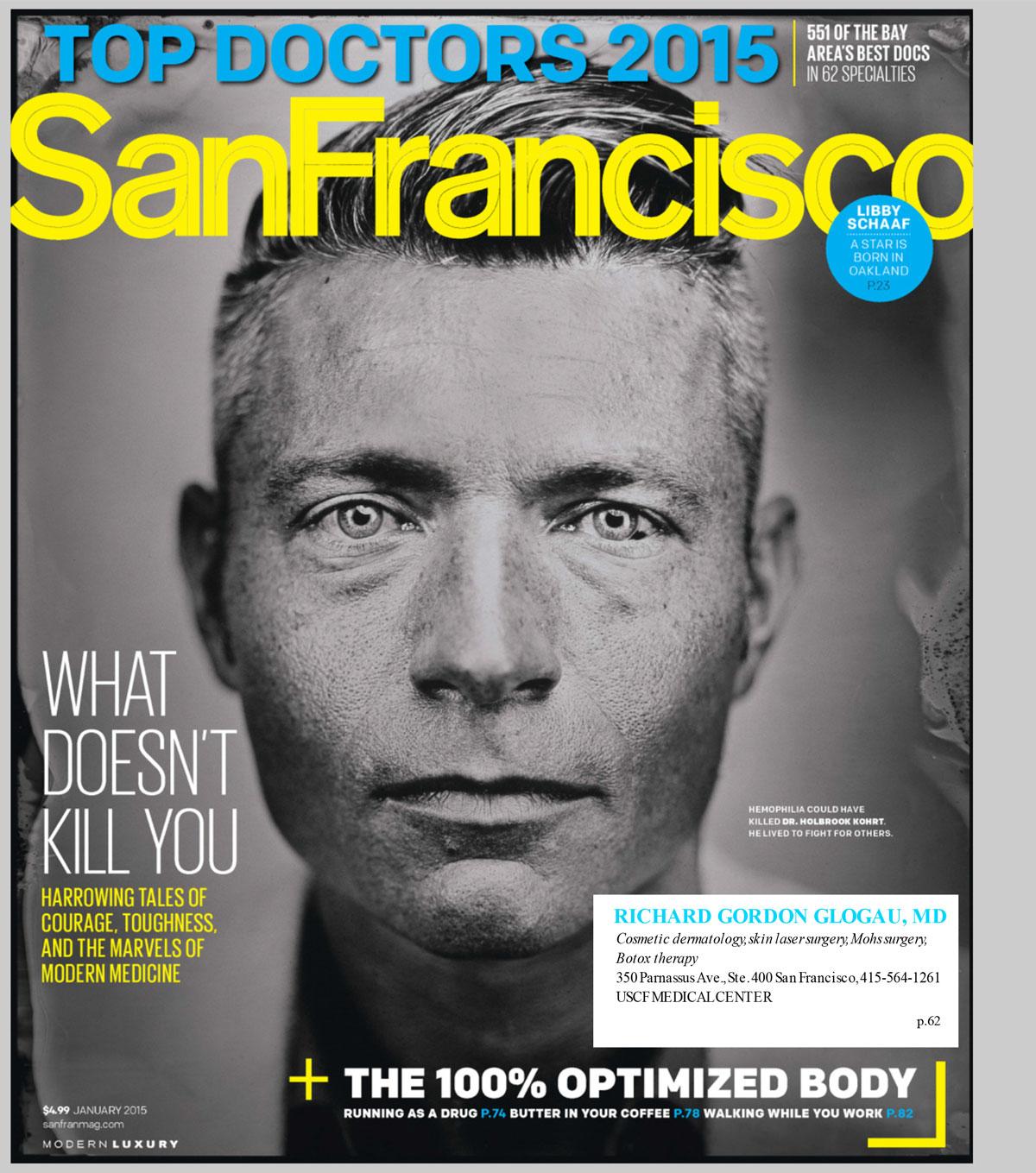 Press | Dr  Richard Glogau | San Francisco Dermatologist